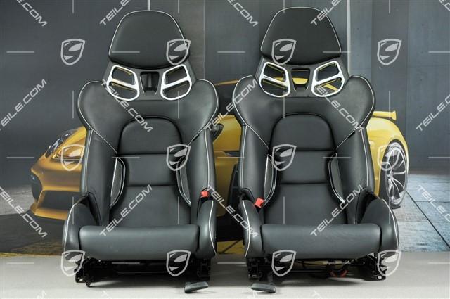orig porsche 911 991 gt3rs 918 spyder schalensitze links rechts bucket seats ebay. Black Bedroom Furniture Sets. Home Design Ideas
