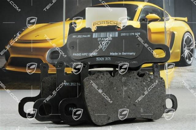 TEILE.COM | PCCB brake pads, repair set, GT3/GT3RS/GT2RS / new / 911 ...