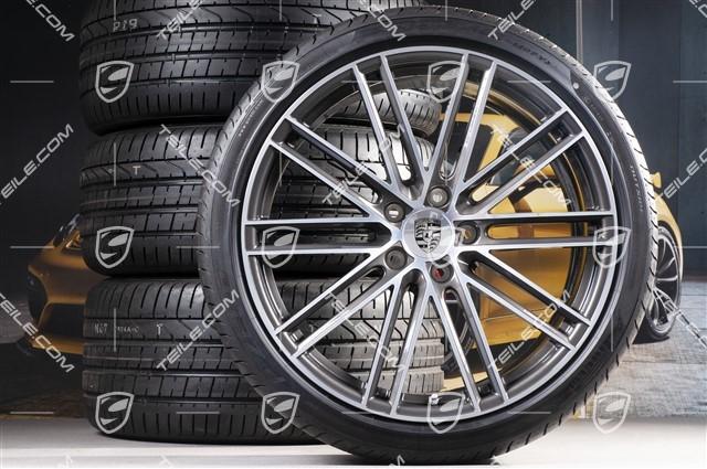 22 Inch Tires >> Teile Com 22 Inch Summer Wheel Set 911 Turbo Iv Design Rims 10j X 22 Et48 11 5j X 22 Et61 New Pirelli Summer Tyres 285 35 Zr22 315 30 Zr22