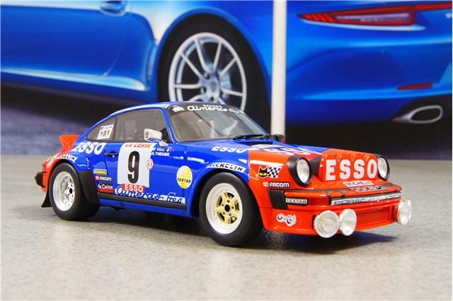 1:18 Otto PORSCHE 911 Carrera SC Tour de Corse 1980 Esso Therier OT176 NEU NEW