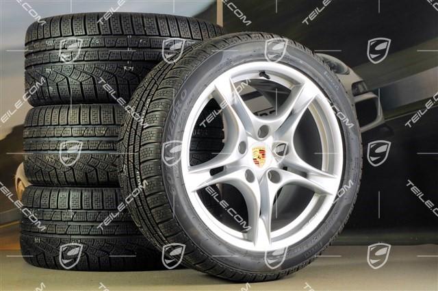 NEW For Porsche Boxster Cayman Radiator Support Bracket Inner Set of 2 Genuine