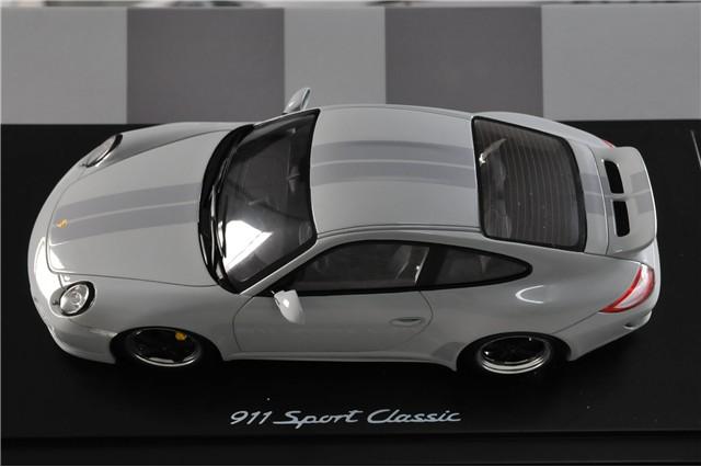 neu 1 18 porsche 911 997 sport classic modell auto fuchs felgen ebay. Black Bedroom Furniture Sets. Home Design Ideas