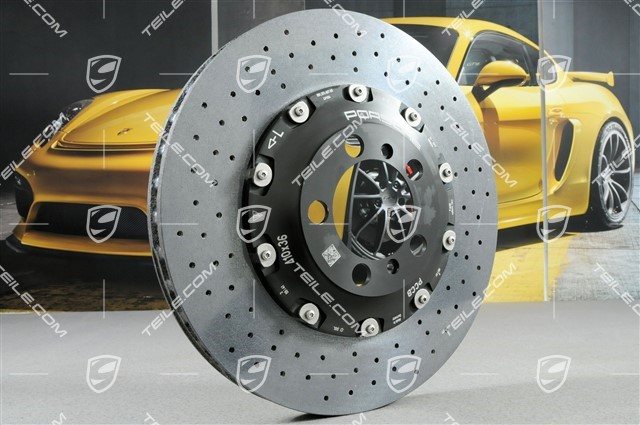 TEILE.COM | PCCB Ceramic brake disc, GT3/GT3RS/GT2RS, L / new / 911 ...