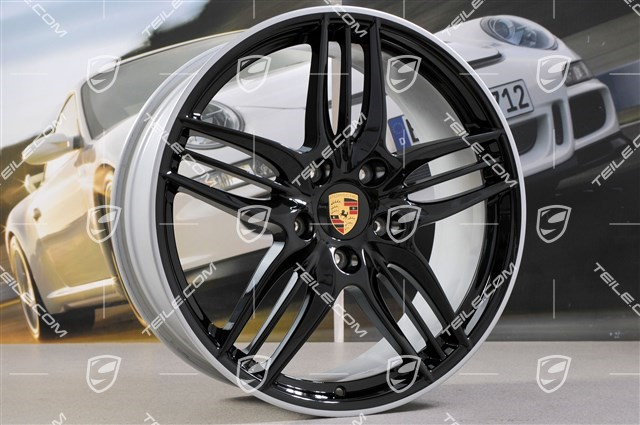 20-inch Sport Design Black wheel set, 8,5J x 20 ET51 + 11J x 20 ET70