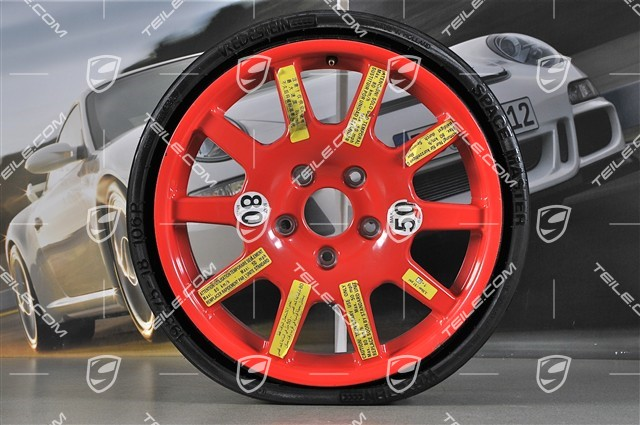 Com 18 Inch Spare Wheel With Collapsible Tyre 6 5 B X Et28 New Cayenne 958 601 00 Wheels Accesories 95836205002