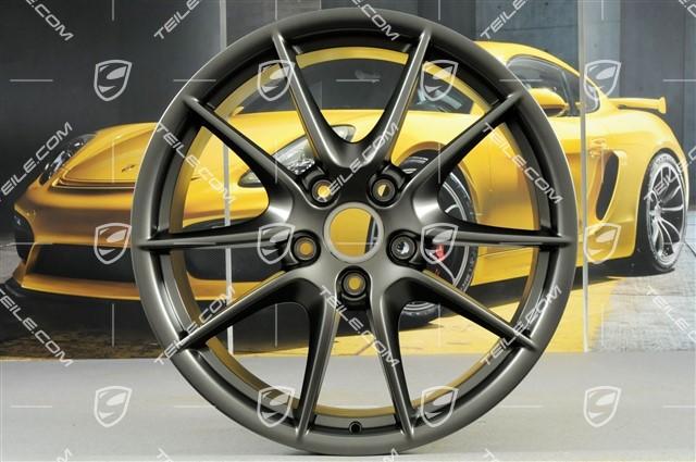 TEILE COM   20-inch Carrera S III wheel, 8,5J x 20 ET51, Platinum satin-mat  / new / 911 991 / 601-00 Rims / 99136216104OB5
