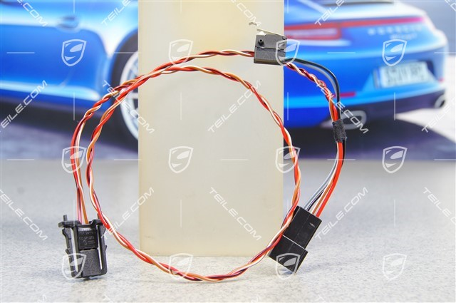 Glove compartment light wiring harness