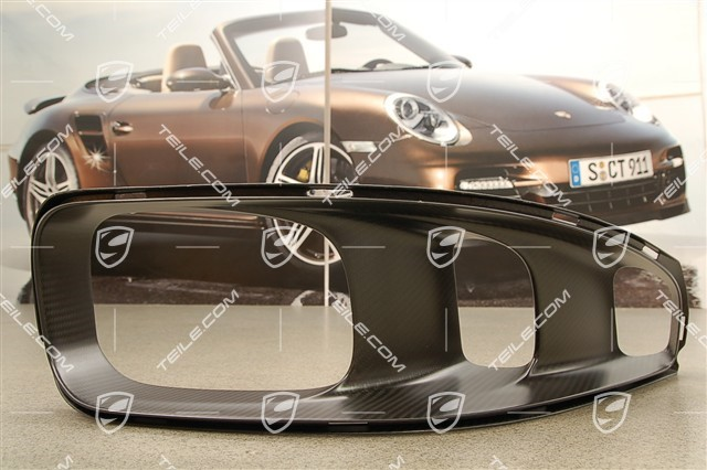 GT2 RS Exhaust pipe cover, with carbon, R