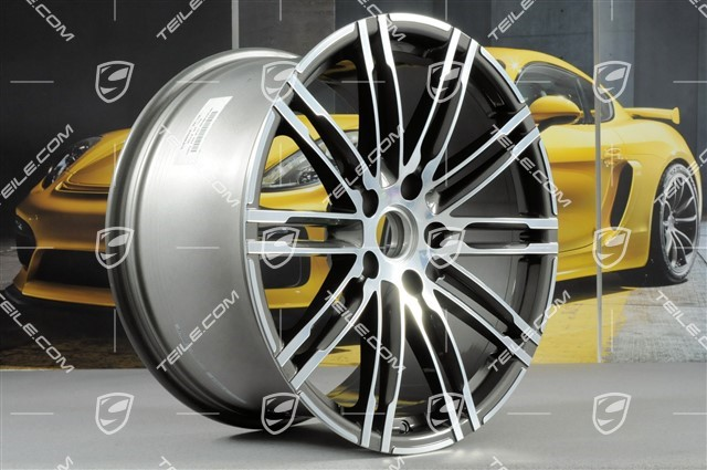 20-inch rims set Turbo III, rims 8,5J x 20 ET51 + 11J x 20 ET56