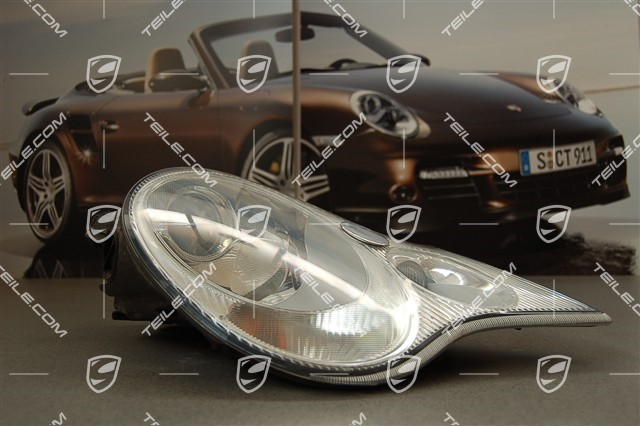 50 orig porsche 911 996 litronic scheinwerfer bi xenon. Black Bedroom Furniture Sets. Home Design Ideas