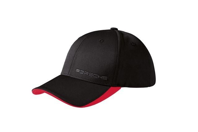 Porsche Classic Baseball Cap with Logo Black