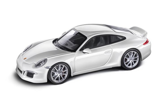 teile com modellauto porsche 911 991 carrera s mit aerokit sport design paket ma stab 1 43. Black Bedroom Furniture Sets. Home Design Ideas