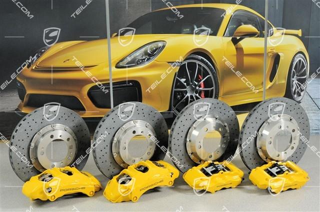 TEILE COM | PCCB Ceramic brake retrofit kit, 997 S / 4S / new / 911 997 /  602-01 PCCB ceramic disc brake, set / 99704460063
