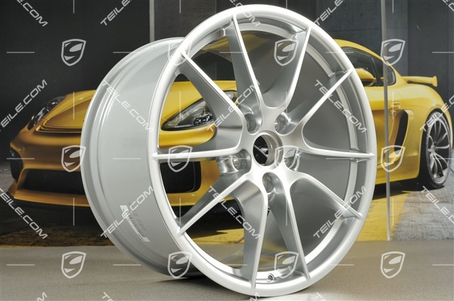 "20"" Carrera S III wheel rim set, 8,5J x 20 ET51 + 11J x 20 ET52, brilliant chrome finish"