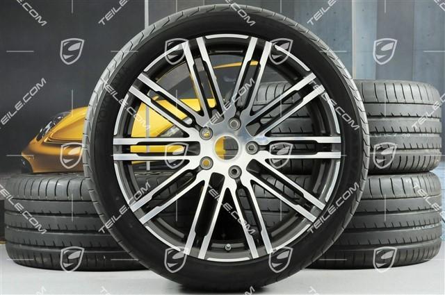 TEILE.COM | 21-inch summer wheels set Turbo III, rims 10J x 21 ET50 ...