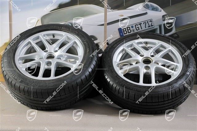 17inch cayman winter wheel set front wheels 65j x 17 et55