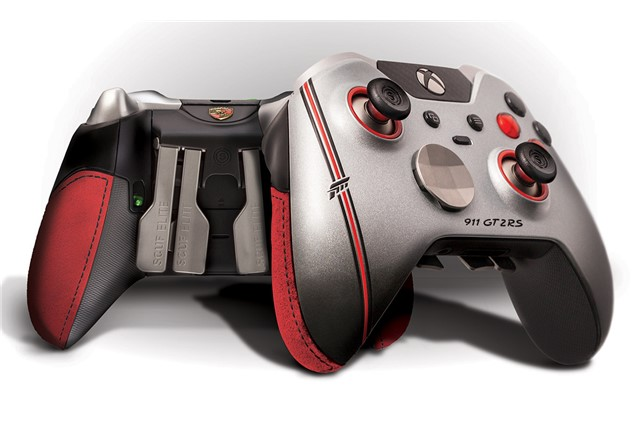 TEILE COM | SCUF FORZA ELITE Controller Xbox One, inspired by the Porsche  911 GT2 RS, Limited Edition / new / Accessories / F  Home / WAX07000001