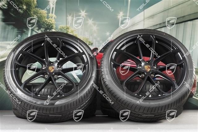 Teile Com 22 Inch Cayenne Coupe Gt Summer Wheel Set Rims 10j X 22 Et48 11 5j X 22 Et52 Pirelli P Zero Summer Tyres 285 35 R22 315 30 R22 With Tpms