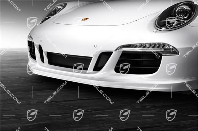 neu porsche 911 991 aero kit sport design paket heck spoiler sto stange ohne pdc. Black Bedroom Furniture Sets. Home Design Ideas