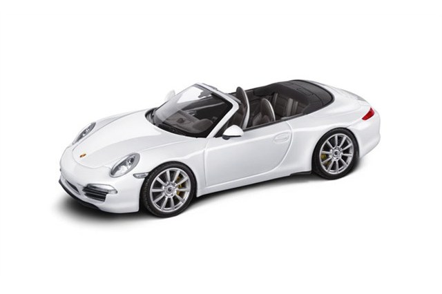 TEILE COM   Model car Porsche 991 Carrera S Cabriolet, scale 1:43 / new /  Accessories / G  911 / WAP0200130C