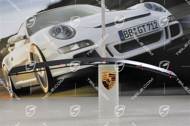 GT3 RS - Spoiler Set, lower part + attachment strip