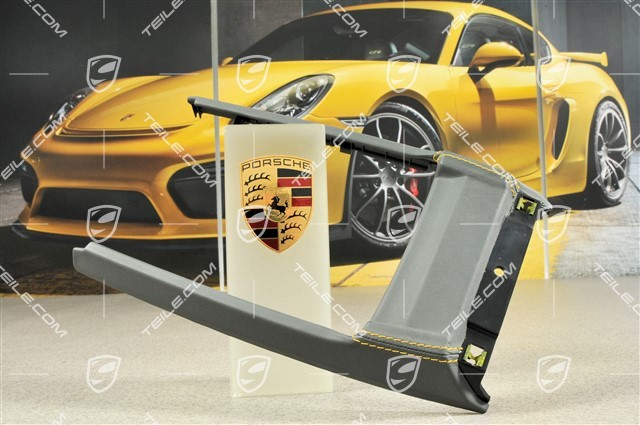 Cover Shift Gate Leather, Stone Gray / Speed Yellow