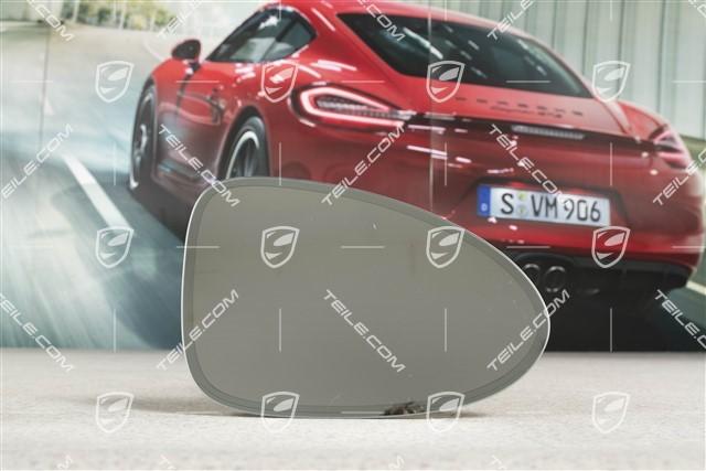 Außenspiegel Spiegelglas Konvex Rechts Porsche Panamera 2010-2015 337RS