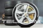 20  Sport Classic komplet kół letnich, GT-Silber m., felgi 9,5J x 20 ET65 + 11,5 x 20 ET63 + opony letnie 255/40 ZR20 + 295/35 ZR20, z czujn.ciśnienia 97004460266