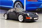 GT SPIRIT Porsche 911 (964/965) Turbo 3.6 Coupe darkblue, skala 1:18 GT105