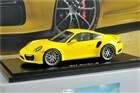 Model samochodu Porsche 911 Turbo S (991 II), żółty racinggelb, skala 1:18 WAP0211360G