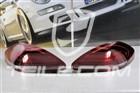 Lampy tylne czarno-czerwone, facelift, komplet (L+R) 97004490155