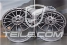 20  Komplet felg Panamera Sport, 9,5J x 20 ET65 + 11,5 J x 20 ET63, Platinum półmat 97036298001KPL