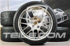 20  Komplet kół zimowych RS Spyder, felgi 9,5J x 20 ET65 + 10,5J x 20 ET65 + opony zimowe Michelin Pilot Alpin 3, 255/40 R20 + 285/35 R20, bez RDK 97004460081