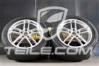 19  komplet kół zimowych Turbo II, felgi 9J x 19 ET60 + 10J x 19 ET61 + opony zimowe Pirelli Sottozero 255/45 R19 + 285/40 R19, bez czujników ciśnienia 97004460073