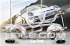 Sportowy układ wydechowy, zawiera sportowe rury wydechowe i podwójne osłony rur ze stali szlachetnej, Panamera Turbo 97004420015