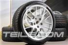 20  Komplet kół zimowych RS Spyder, felgi 9,5J x 20 ET65 + 10,5J x 20 ET65 + opony zimowe Pirelli 255/40 R20 + 285/35 R20, z czujnikami ciśnienia 97004460036