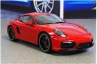 GT SPIRIT Porsche Cayman GTS (981C), czerwony, skala 1:18 GT112